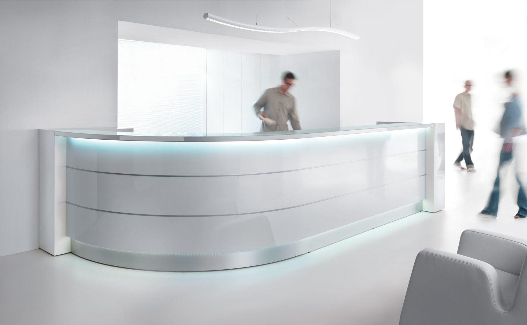 Valde Reception Desk counter - Rapid Office Furniture