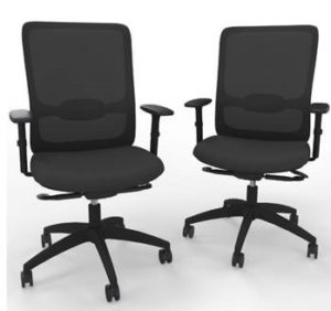 Black Mesh Back Operator Chair BTCH14