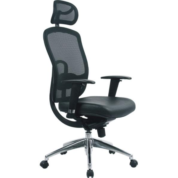 ... Back Support Office Chair. Sale. Click ...  sc 1 st  Rapid Office Furniture & Liberty Executive Leather Mesh Back Support Office Chair - Rapid ...