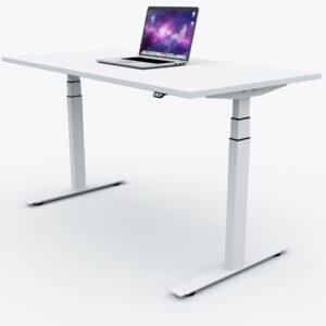 Height adjustable electric desk